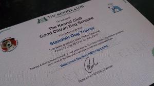 GCDS Certificate
