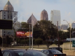 View of Atlanta from the Highway